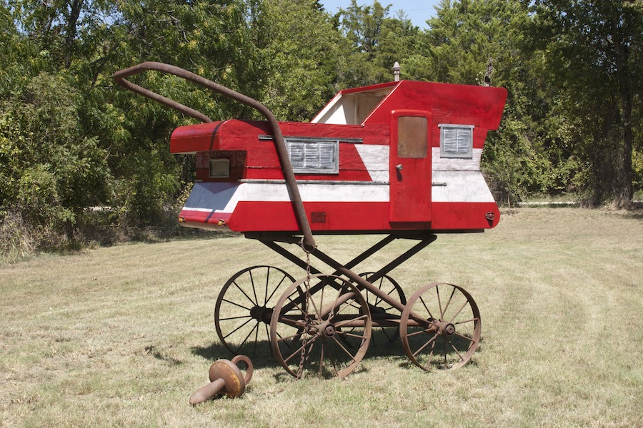 """Southern Comfort #2 2012 painted steel 108""""x108""""x60"""""""