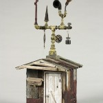 """John Lee's Shed 2008 wood, steel, paint, found objects 14""""x20""""x12"""""""